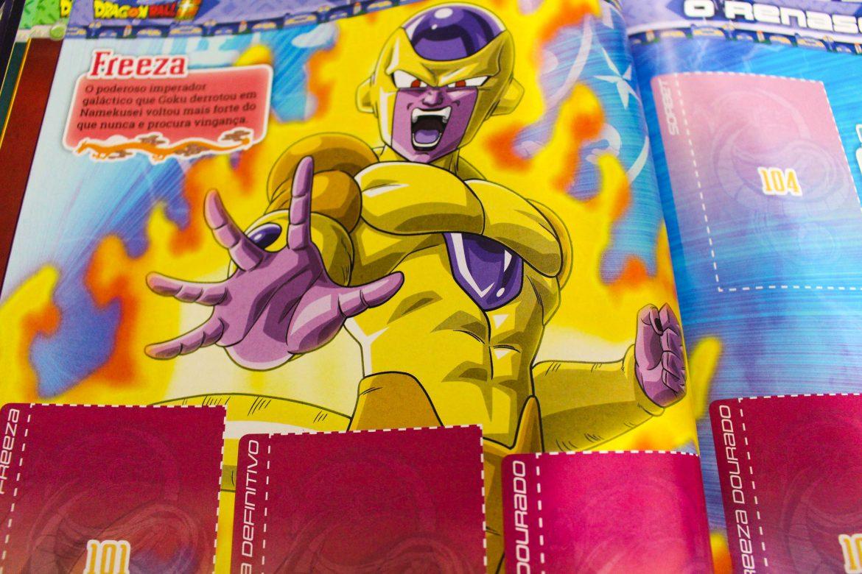Álbum de Figurinhas Dragon Ball Super Panini